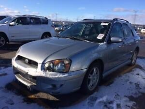 2005 SUBARU IMPREZA AWD SPORT, AUTO, SUNROOF, LOW KMS ONLY 130K!