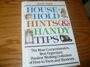Readers Digest Household Hints and Handy Tips