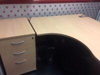 L Shaped Corner Office desk
