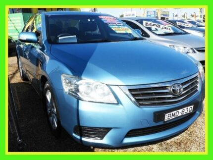 2009 Toyota Aurion GSV40R MY10 AT-X Turquoise 6 Speed Sports Automatic Sedan Minchinbury Blacktown Area Preview