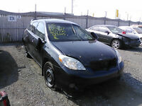 2006 TOYOTA MATRIX/XR - GREAT PRICES ON QUALITY PARTS!