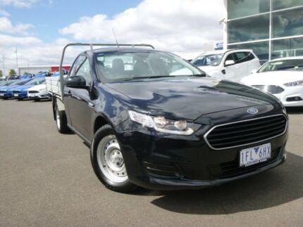 2015 Ford Falcon FG X Ute Super Cab Black 6 Speed Sports Automatic Utility