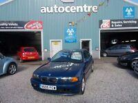 BMW 3 SERIES 2.5 323CI SE 2d 168 BHP full mot (blue) 1999