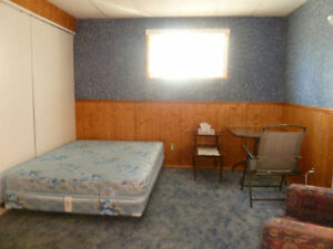 furnished room for working lady, rent monthly