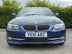 BMW 3 SERIES 3.0 335I SE 2d AUTOMATIC (blue) 2010