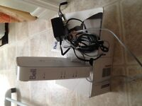 High Speed Modem and Wireless router/ ADSL