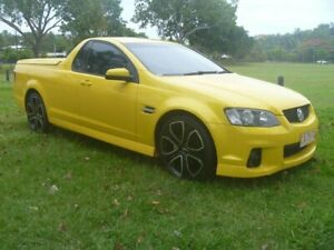 2010 Holden Ute VE II SV6 Yellow 6 Speed Sports Automatic Utility Stuart Park Darwin City Preview