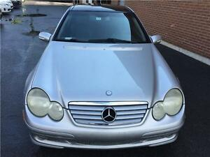 2002 Mercedes-Benz C230 Coupe Kompressor Sport