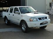 2013 Nissan Navara D22 S5 ST-R White 5 Speed Manual Utility Moorooka Brisbane South West Preview