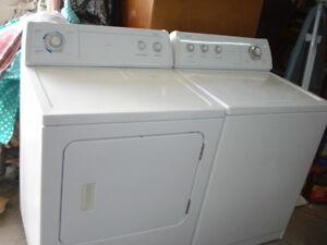 laveuse/secheuse whirlpool blanche grande capacité