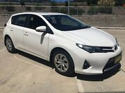 2013 Toyota Corolla ZRE182R Ascent S-CVT Glacier White 7 Speed Constant Variable Hatchback Lisarow Gosford Area Preview