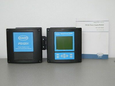 Hach Aquatrendsom Signal Module Water Analysis System W Ps1201 Power Supply