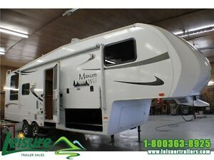 2011 Discover Canada Maxum Wild 27RL Fifth Wheel