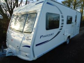 BAILEY PAGEANT CHAMPAGNE 2008, 4 BERTH WITH MOTOR MOVER