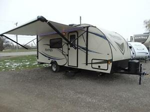 Matrix single axle travel trailer