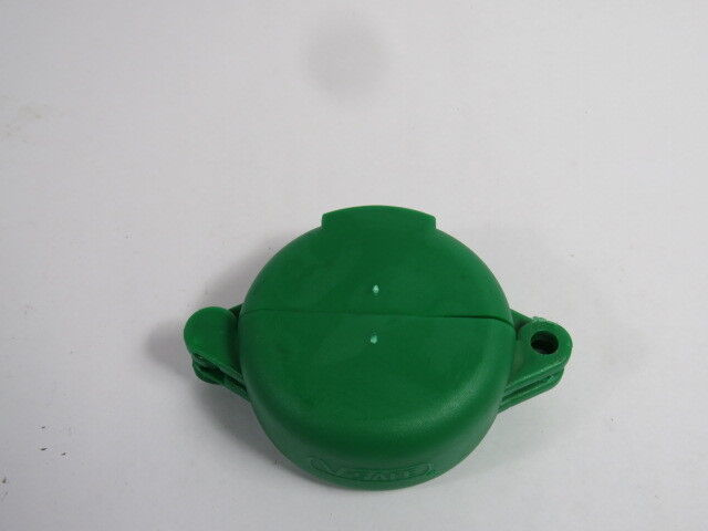 "North VS02G Green Lockout for Wheel Valve for Size 1-2-1/2""  USED"