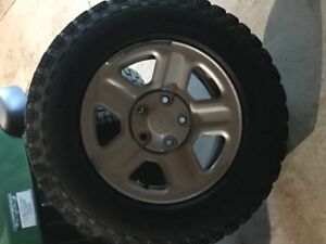 Wrangler tires and rims