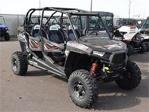 2017 POLARIS RZR 4 900 EPS BLACK PEARL - GET OUT WITH THE FAMILY