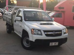2009 Holden Colorado RC MY09 LX 4x2 White 5 Speed Manual Cab Chassis South Toowoomba Toowoomba City Preview