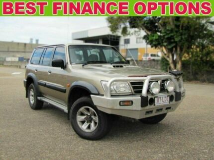 2004 Nissan Patrol GU IV MY05 ST Gold 4 Speed Automatic Wagon