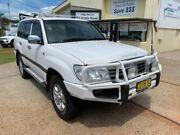 2007 Toyota Landcruiser UZJ100R Upgrade II GXL (4x4) White 5 Speed Automatic Wagon Port Macquarie Port Macquarie City Preview