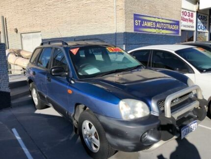 2004 Hyundai Santa Fe Sm My04 Gls 4 Sd Sports Automatic Wagon
