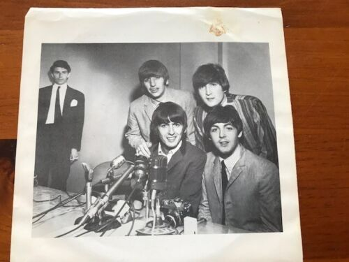 "RARE BEATLES VINYL 7"" SEATTLE PRESS CONFERENCE AUG 21 1964 #1439/2000 LENNON OOP"