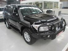2009 Toyota Landcruiser UZJ200R Sahara (4x4) Black 5 Speed Automatic Wagon Maryville Newcastle Area Preview