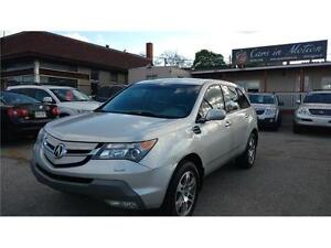 2008 ACURA MDX SH AWD SPORT, LEATHER,SUNROOF, 7 PASSENGERS