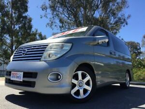 2005 Nissan Elgrand E51 Highway Stars Silver 4 Speed Automatic Campervan Kingston Logan Area Preview