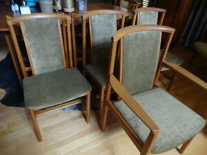 Teak Dining chairs / Sweden