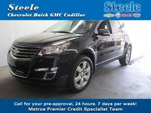 2014 CHEV TRAVERSE LT AWD Off Lease & Ready to Impress !!!!