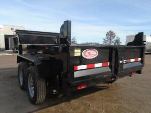 INCLUDES ALL THE OPTIONS - YOUR LOWEST PRICED 6X10 DUMP TRAILER London Ontario image 3