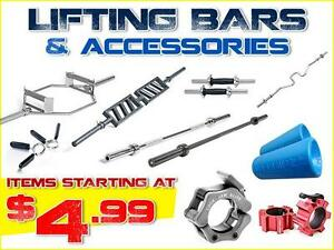Weight Lifting Bars & Accessories: Olympic & Standard / Functional Training / Recovery Accessories