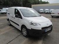 Peugeot Partner L2 716 S 1.6 Hdi 92PS Crew Van DIESEL MANUAL WHITE (2015)