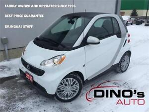 2015 smart fortwo Passion | $32 Weekly $0 Down *OAC / Leather