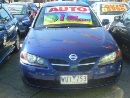 2003 Nissan Pulsar N16 MY03 ST 4 Speed Automatic Hatchback Preston Darebin Area Preview
