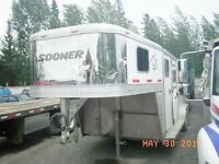 I need someone to haul a horse trailer from Quesnel to Alberta