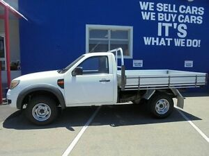 2010 Ford Ranger PK XL Hi-Rider White 5 Speed Manual Cab Chassis Welshpool Canning Area Preview