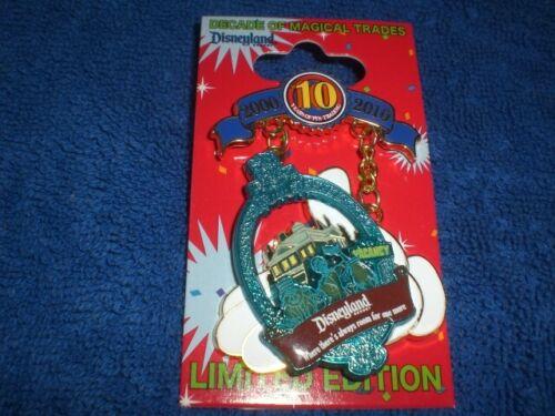 Disney DLR Pin Trading 10th Anniversary PINBASSADOR  HAUNTED MANSION  LE Pin