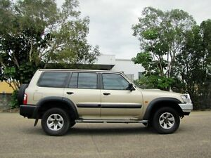 2004 Nissan Patrol GU IV MY05 ST Gold 4 Speed Automatic Wagon Underwood Logan Area Preview