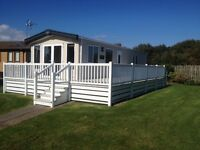 ABI ALDERLEY 2 bed 36x12 in Fantastic Condition on TALACRE BEACH in north wales
