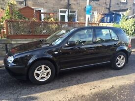 53 plate VW Golf 1.4 petrol, 12 month MOT, 5 door, very good condition, one previous owner, £1250ono