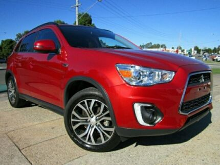 2016 Mitsubishi ASX XB MY15.5 LS 2WD Red 6 Speed Constant Variable Wagon