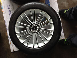 """18"""" RTX Rims with General  G-Max tires 235/50ZR18"""