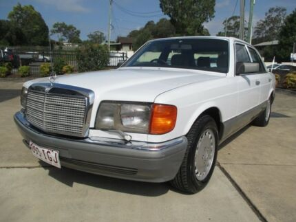 1988 Mercedes-Benz 300SE WDB126 300SE 4 Speed Automatic Sedan