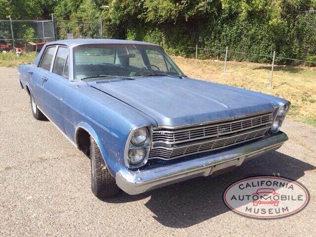 Ford: Galaxie 500 1966 ford galaxy 500 sedan 289 v 8 project