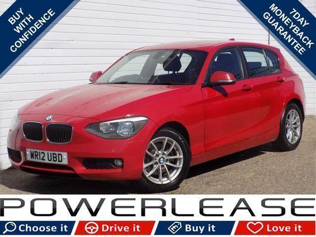 2012 12 BMW 1 SERIES 2.0 120D SE 5D 181 BHP DIESEL