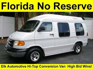 NO-RESERVE-HI-BID-WINS-ELK-AUTOMOTIVE-HI-TOP-CONVERSION-VAN-SERVICED-REAR-BED-TV