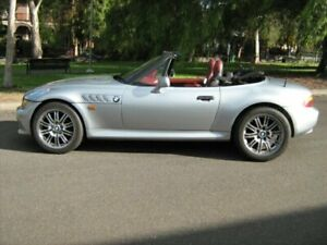 1997 BMW Z3 2.8 Silver 5 Speed Manual Roadster North Melbourne Melbourne City Preview